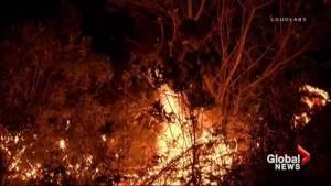 Dozens of individual wildfires threaten U.S. west coast