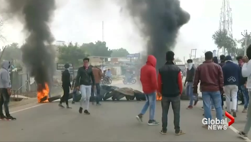 Padmavat Protest: Karni Sena Workers Attack School Bus in Gurugram
