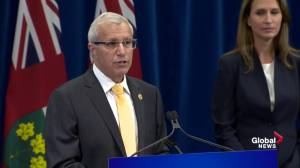 Government 'won't want to do business' with illegal cannabis dispensaries: Fedeli (00:20)