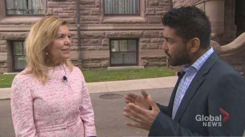 1-on-1 with Health Minister Christine Elliott