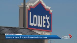 Lowe's slashes number of Canadian stores due to underperformance
