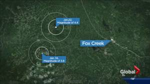Fracking could be cause of earthquake near Fox Creek