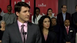 Trudeau doesn't address calls for resignation, says Canadians will choose in general election