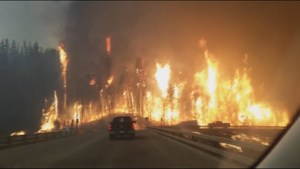 Officials in Alberta doing everything possible to tame devastating wildfire