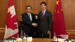 Trudeau welcomes China's premier to Canada for 'historic' visit
