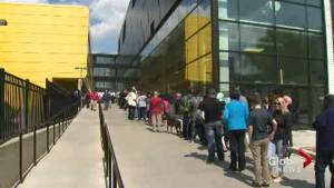 Fort McMurray wildfire: Emergency relief begins to flow to evacuees (02:48)