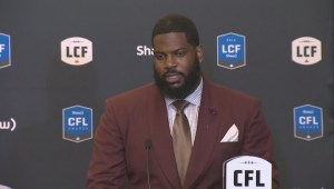 RAW: Blue Bombers Stanley Bryant – CFL's Top Offensive Lineman