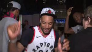 'We made history': Norm Powell, Raptors celebrate advancing to NBA Final