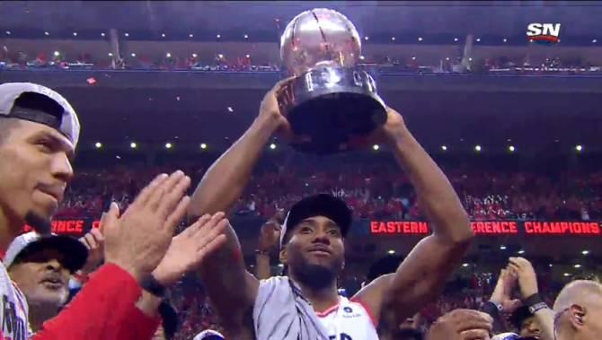 Toronto Raptors beat Milwaukee Bucks to win NBA Eastern ...