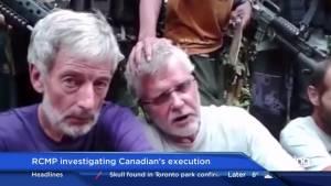 RCMP investigating John Ridsdel's execution