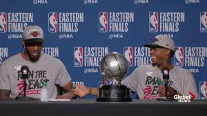 Kawhi Leonard, Kyle Lowry speak after Raptors beat Bucks to advance to NBA Final