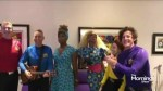 The Wiggles and RuPaul Drag Queens Collaborate in The Morning Show green room!
