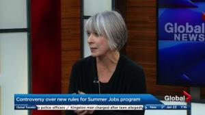 Employment Minister Patty Hajdu defends requiring groups to affirm respect for rights to get funds