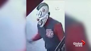 Teen wearing clown mask accused of armed fast food restaurant robberies