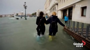Venice, Italy continues to grapple with historic flooding