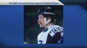 Kinsmen celebrity sports dinner honours Leafs legends