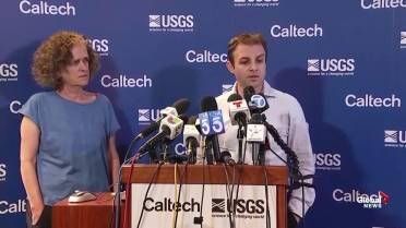 7 1-magnitude earthquake hits California's Searles Valley
