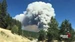 Wildfire breaks out in Joe Rich area near Kelowna