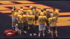 The Morning Show tees up The Queen's Gaels football team's final game of the season.