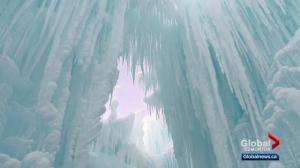 A look ahead of Edmonton's Ice Castles