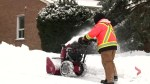 Clean up underway in Durham after Tuesday's winter storm