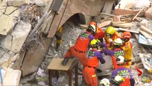 At least 12 killed in Taiwan quake as search operation winds down