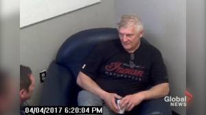 Video of police interview with man acquitted of drug trafficking where he appears to admit he is a fentanyl 'mule' (Unedited version)