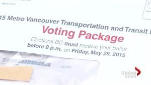 Transit plebiscite deadline today at 8pm
