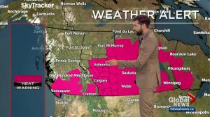 Edmonton Weather Forecast: Aug. 9