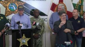 Florida Governor Scott is 'most worried' about storm surge from Hurricane Michael