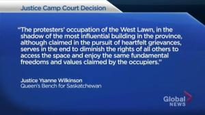 Justice for Our Stolen Children Camp ordered to leave Wascana Park