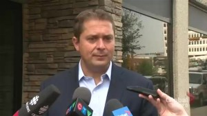 Scheer won't say whether he's planning to take action against Maxime Bernier
