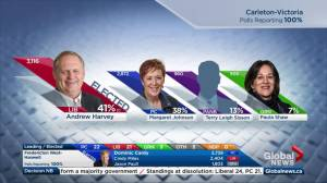 New Brunswick election: Andrew Harvey re-elected in Carleton-Victoria