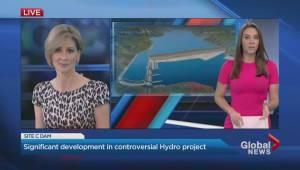 Site C construction achieves major breakthrough