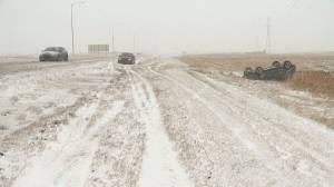 Calgary and area wakes to wintry wallop