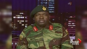 Zimbabwe army says it has taken power, Mugabe 'safe and sound'