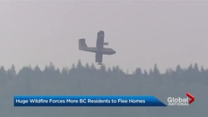 British Columbia's Elephant Hill wildfire forces prompts evacuations