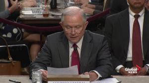 Sessions 'does not recall' and conversations with Russians at Mayflower hotel