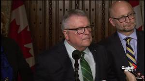 U.S. border guards won't change question as cannabis is legalized: Goodale