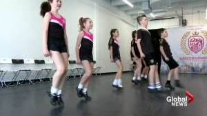 Young Irish dancers 'super excited' about major St. Patrick's Day performance in Calgary
