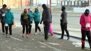 Saskatoon runners brave frigid temperature for Resolution Run