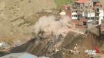 17 homes destroyed by landslide in Bolivia