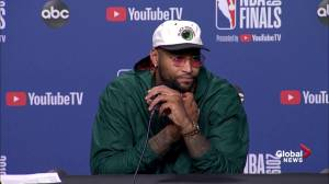 Demarcus Cousins talks about his return to the lineup in Game 2