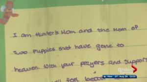 Edmonton mother pens letter about loss of son in deadly arson