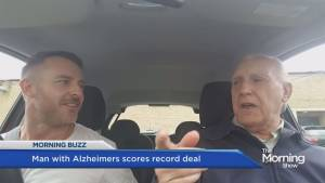 YouTube star with Alzheimer's scores recording deal