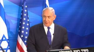 Israel's Netanyahu urges continued pressure on Iran with sanctions