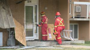 Red Cross providing assistance to 39 families impacted by north Regina fire