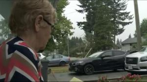 Surrey neighbourhood resident threatens to block her road to traffic