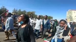 Protesters targeted by tear gas on Sudan streets after President's speech