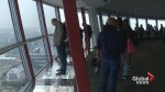 Heavy haze not stopping visitors enjoying view from the Calgary Tower